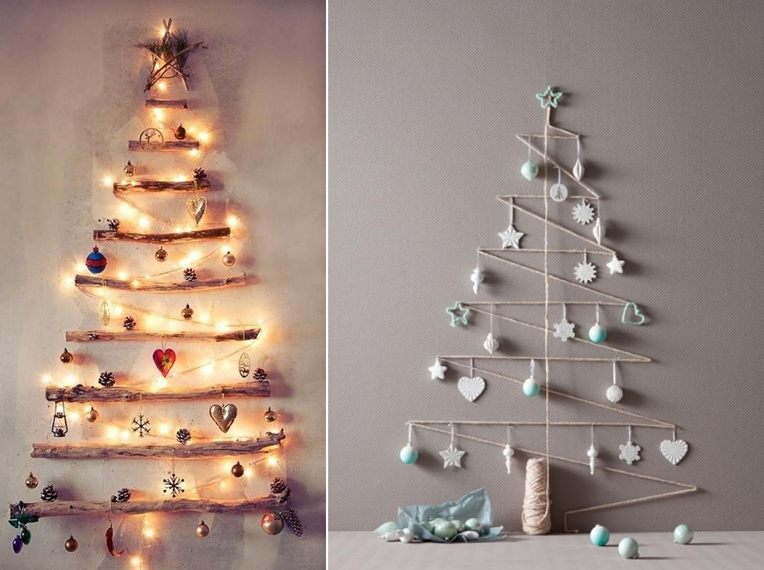 alternatieve kerstboom hout